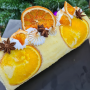 Orange Vanilla Rollcake