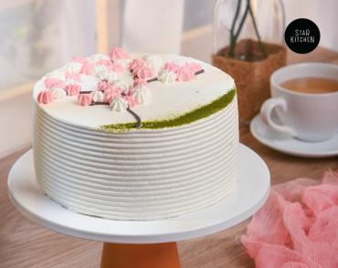 Japanese Spring Cake