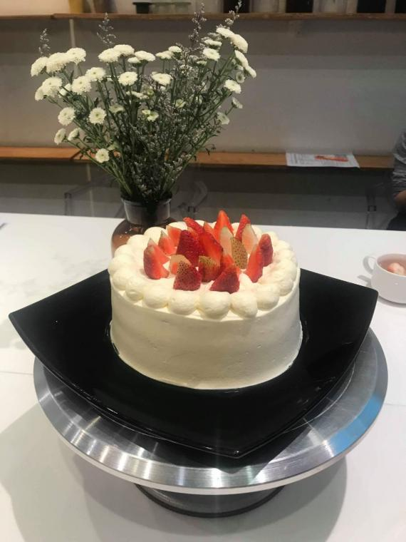 Lớp Strawberry Shortcake 1