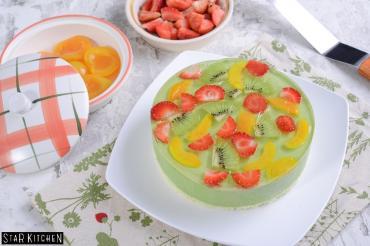 Lớp Matcha Fruit Cheesecake