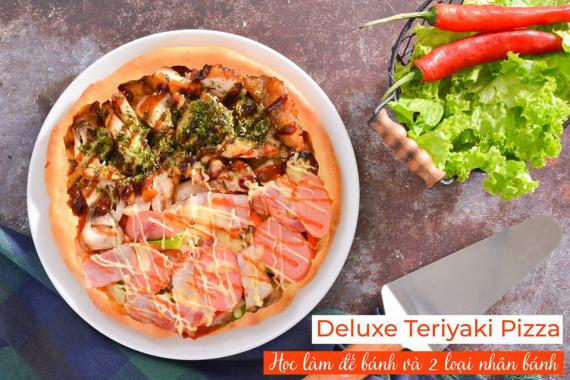 Deluxe Teriyaki Pizza