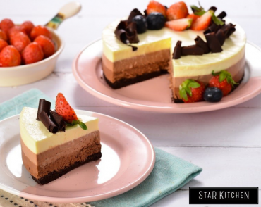 Lớp Triple Chocolate Mousse