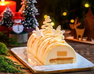 Buche de Noel à la vanille