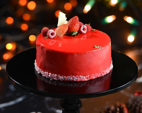 Sparkling Raspberry Mousse