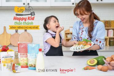 Lớp học tài trợ từ thương hiệu Kewpie