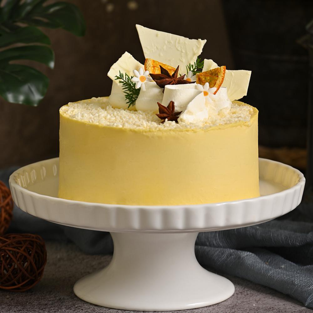 Corn Mousse Cake - Bánh kem bắp