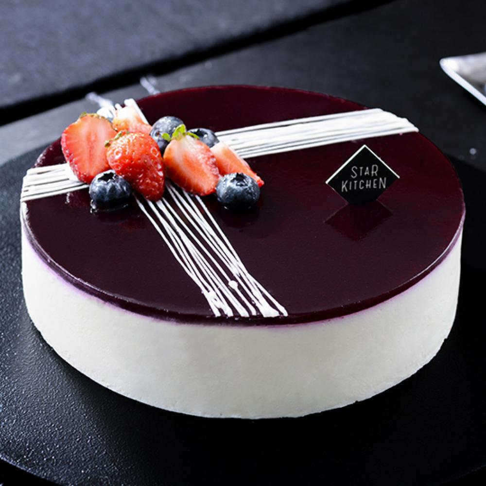 Blueberry Yogurt Mousse