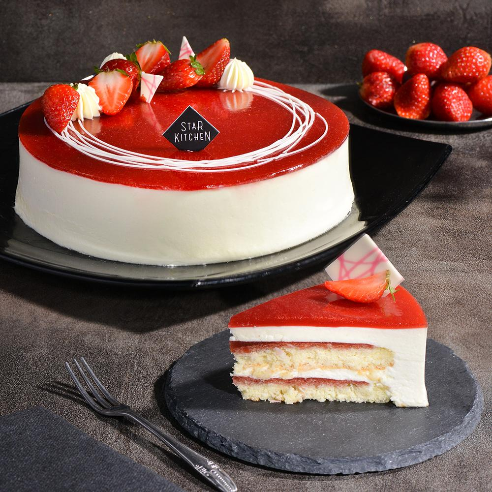 Strawberry Coconut Mousse